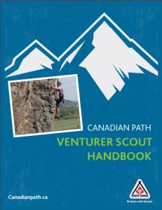 venturer Scout handbook